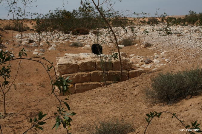 IMG_9830 שרידי סכר מפגש בשור רביביםעותק